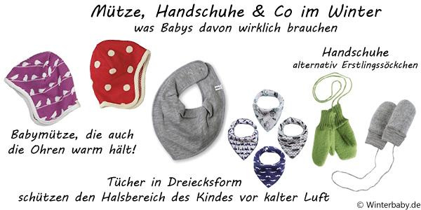 Mütze, Handschuhe & Co. im Winter