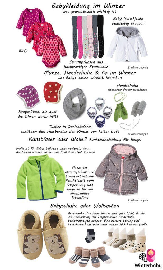 Winterbaby - Richtige Kleidung
